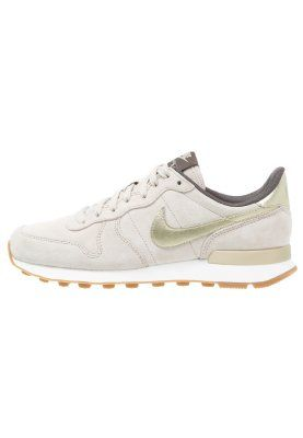 INTERNATIONALIST PREMIUM - Sneaker low - string metallic gold grain dark  storm Nike Sportswear 348b2024093d