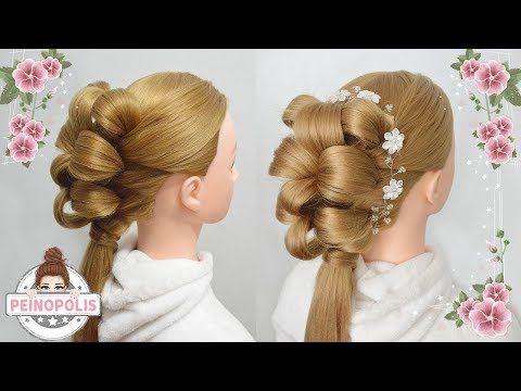 Peinados para Fiesta con Tiara - Recogidos Faciles y Rapidos