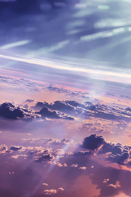 I'll fly just to see you, Skyscape | by Jenn Wong