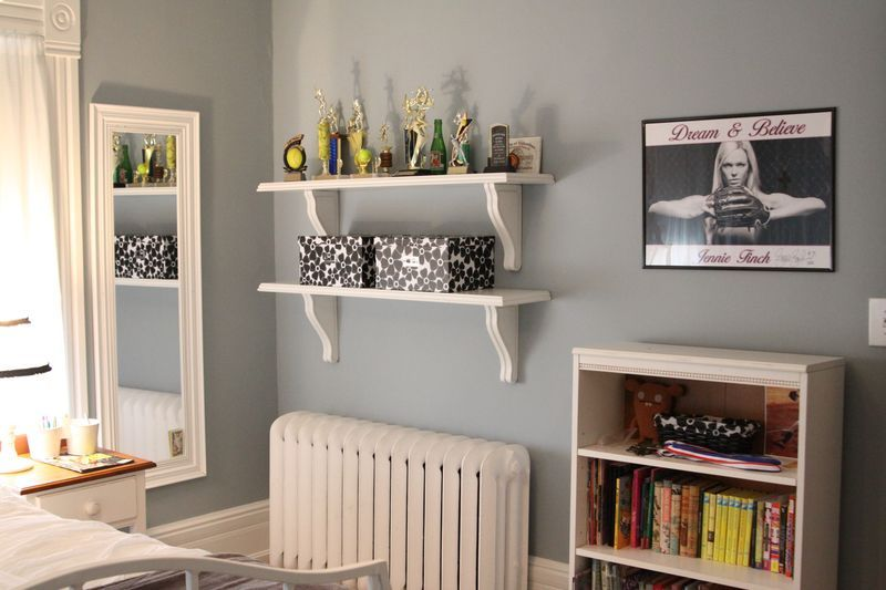 Benjamin Moore Nimbus Gray Click Through Photos To See Color In Different Light Girls Room Decor Paint Colors For Home Room Colors