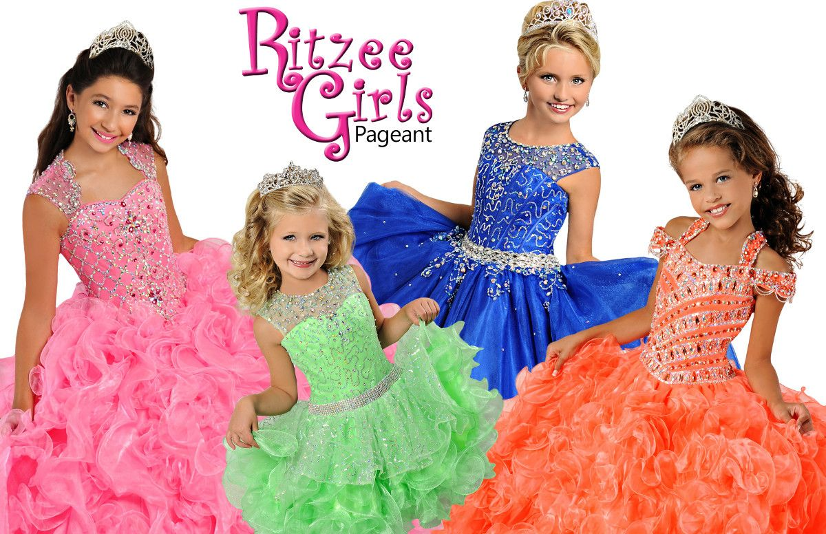 Ritzee Girls | Pageant Dresses And Outfits For Girls | Pinterest