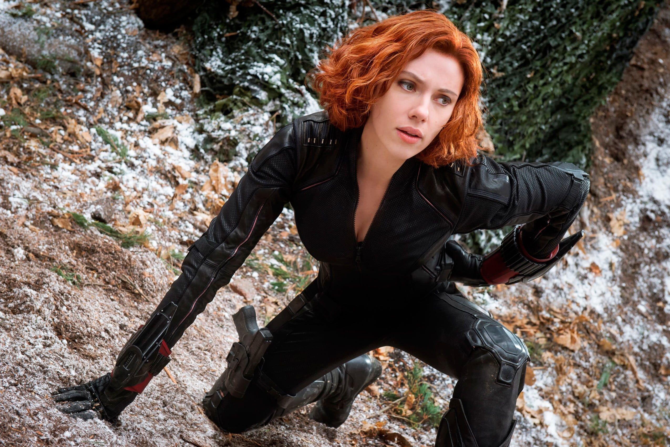 Black Widow Avengers Scarlett Johansson Black Widow The Avengers Avengers Age Of Ultron Marvel Viuda Negra Los Vengadores Viuda Negra Traje De La Viuda Negra