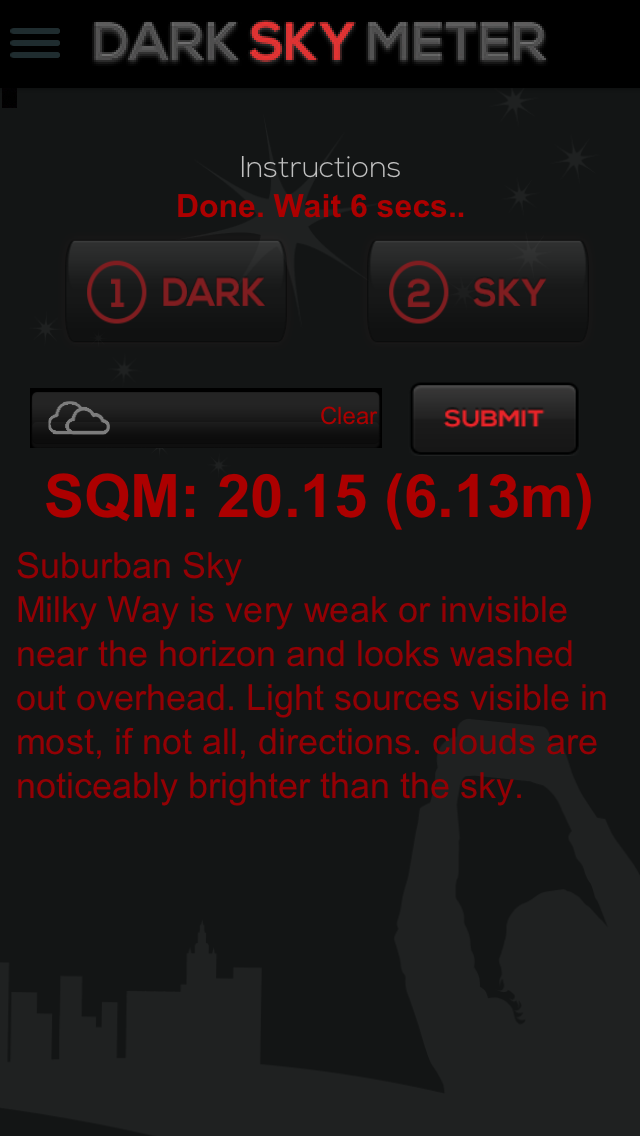 The Dark Sky Meter Available For IPhones Allows Citizen - Bortle dark sky scale map