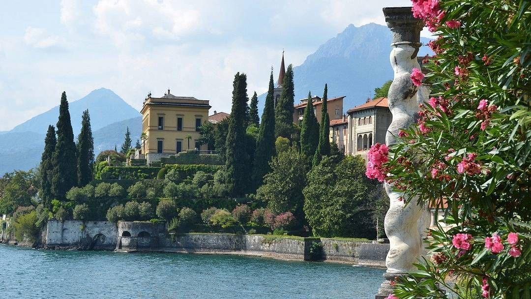The stunning views of Lake Como