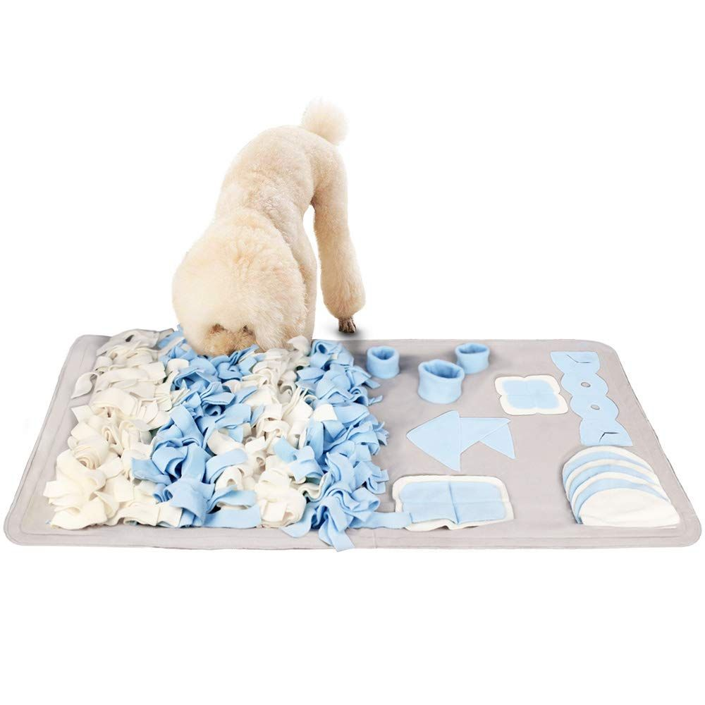 Snuffle Mat For Small Large Dogs Nosework Feeding Mat 23 6 X 39 4 Easy To Fill And Machine Washable Training Mats Pet Ac Dog Toy Storage Large Dogs Dog Feeding