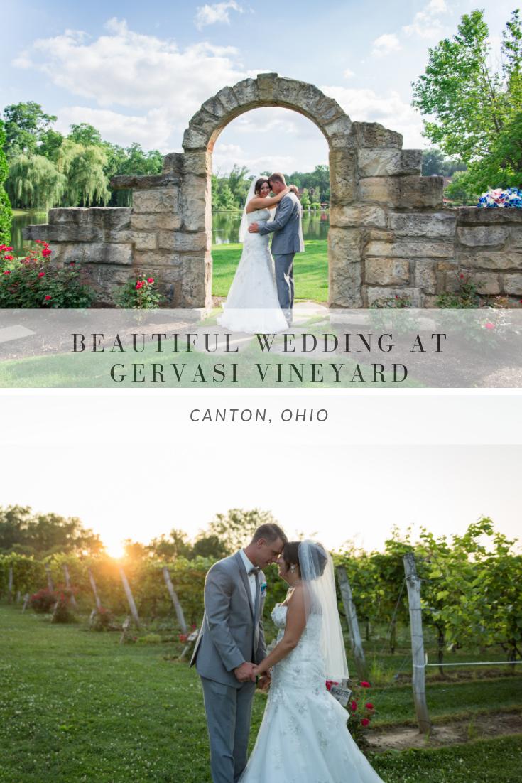 Beautiful Wedding At Gervasi Vineyard In Canton Ohio Vineyard Wedding Ohio Wedding Ohio Wedding Venues