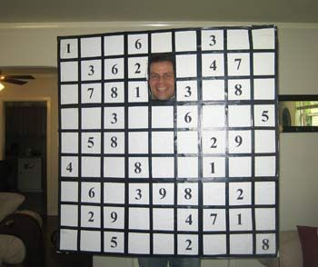 sudoku halloween costume easy to make and interactive party time