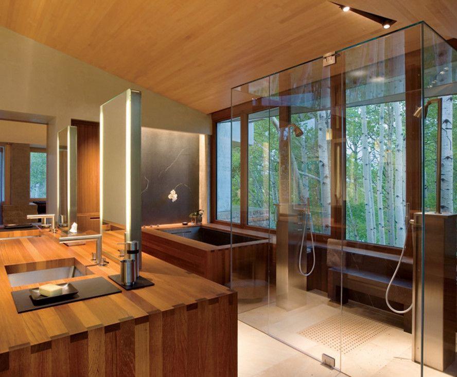 Home Spa Room Design Ideas   Hot Tubs & Jacuzzis   Pinterest   Spa ...