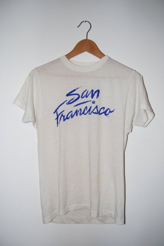 Vintage 1980's San Francisco California Tshirt