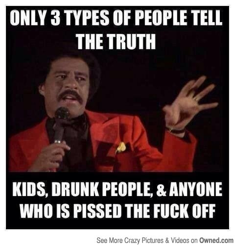 3 Types Of People Tell The Truth Funny Quotes Funny Captions
