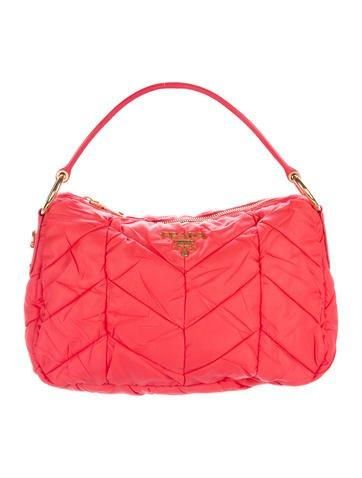 c19e9a603a89 ... ireland the realreal prada prada quilted tessuto handle bag adorewe  9c387 faf86 spain prada leather ...