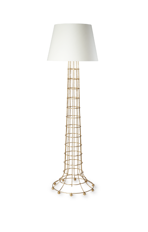 Gilded Cage Floor Lamp By Fisher Weisman Lamp Interior Design Design