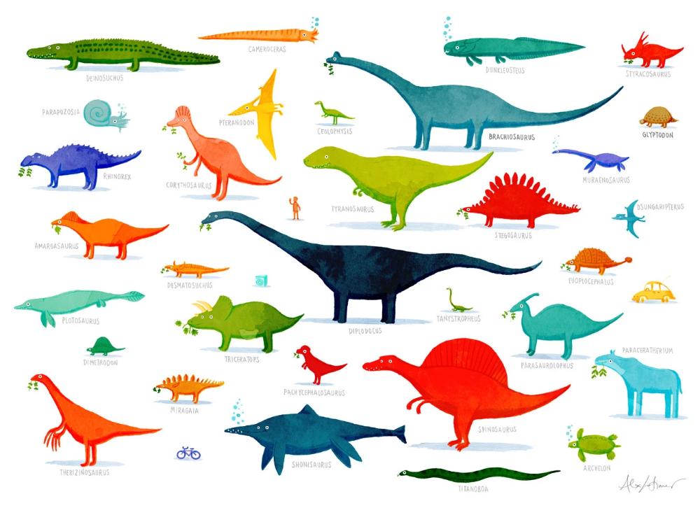 Dinosaur Poster Illustrations In 2020 Dinosaur Posters Poster Art Book Art