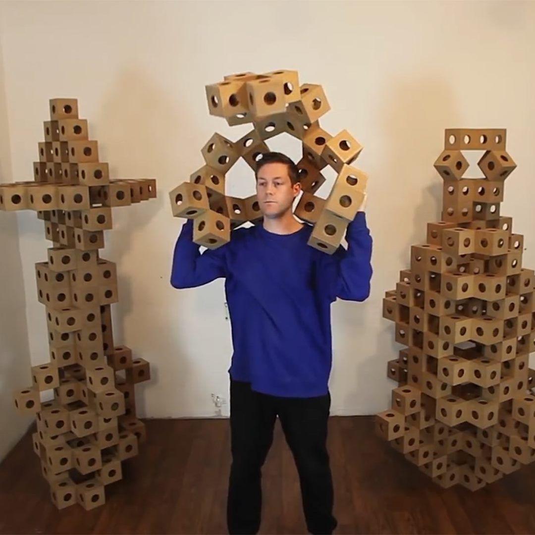 Photo of Von Origami inspirierte Blöcke schaffen formwandelnde Skulpturen