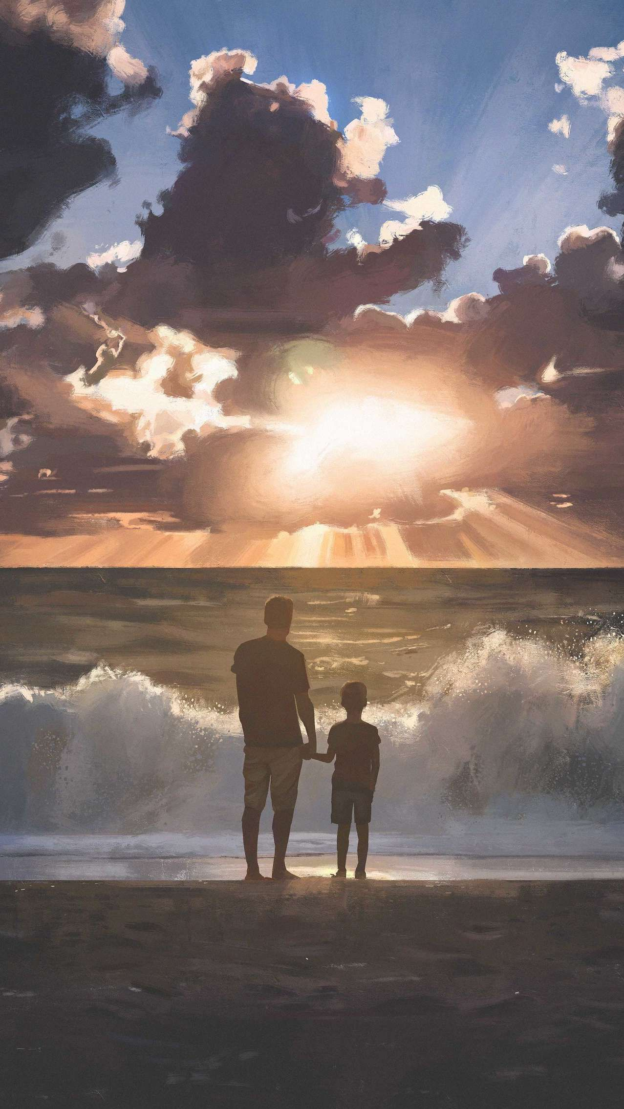 Father And Son Iphone Wallpaper In 2019 Girl Iphone