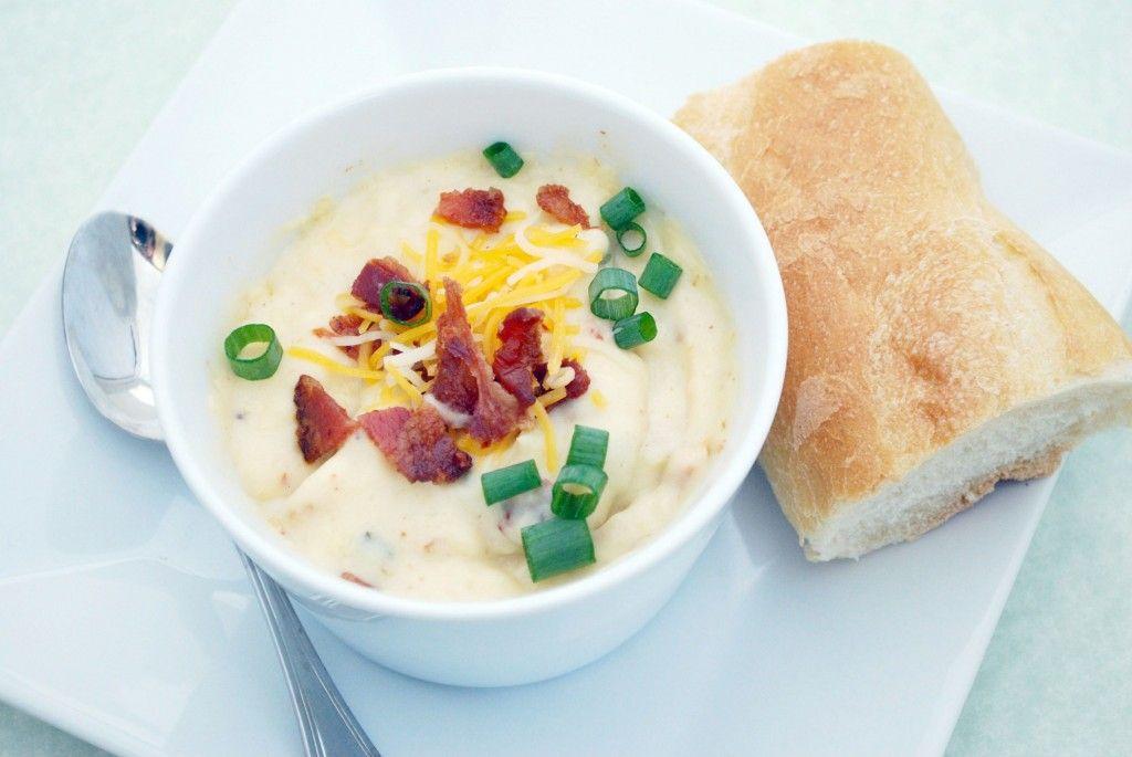 Loaded Baked Potato Soup...Mmmmm