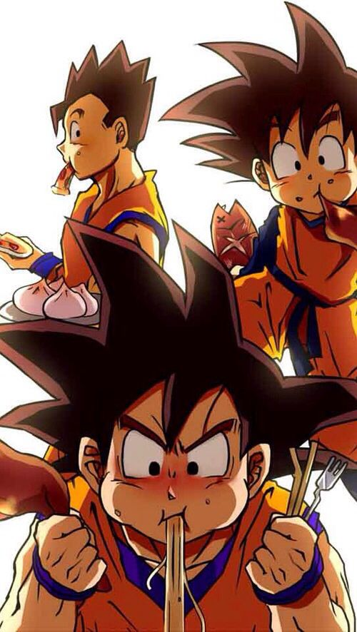 Goku gohan and goten goku pinterest goku dragon - Dragon ball gt goku wallpaper ...