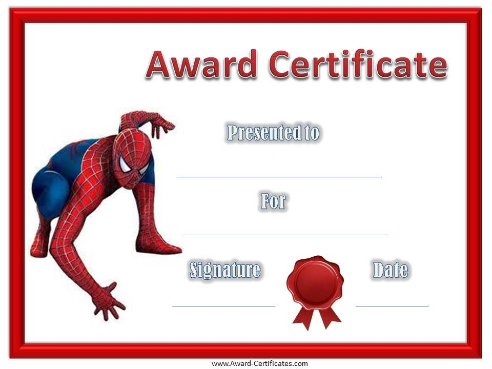 Free Printable Award Certificates For Kids – Kids Certificate Templates