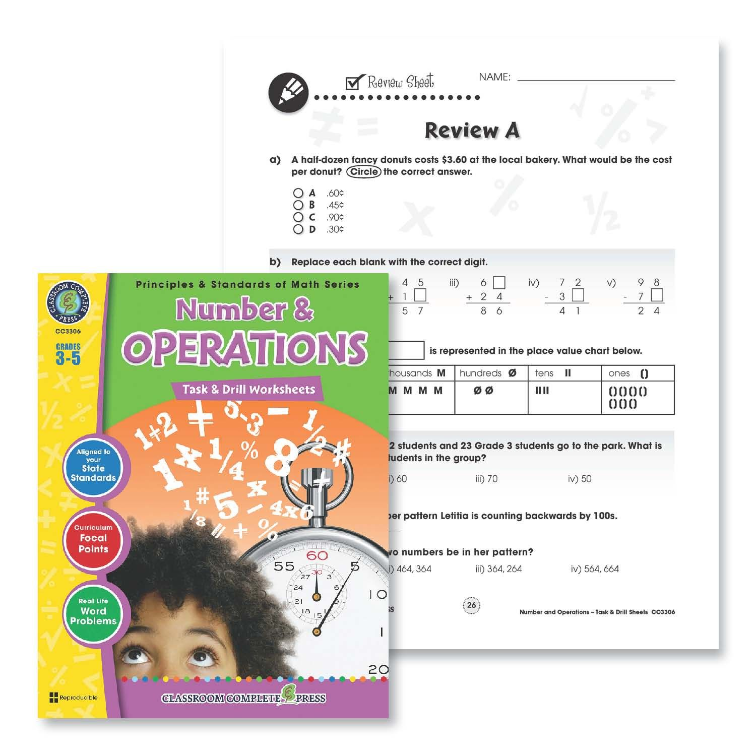 Worksheets For The Classroom Classroom Complete Press