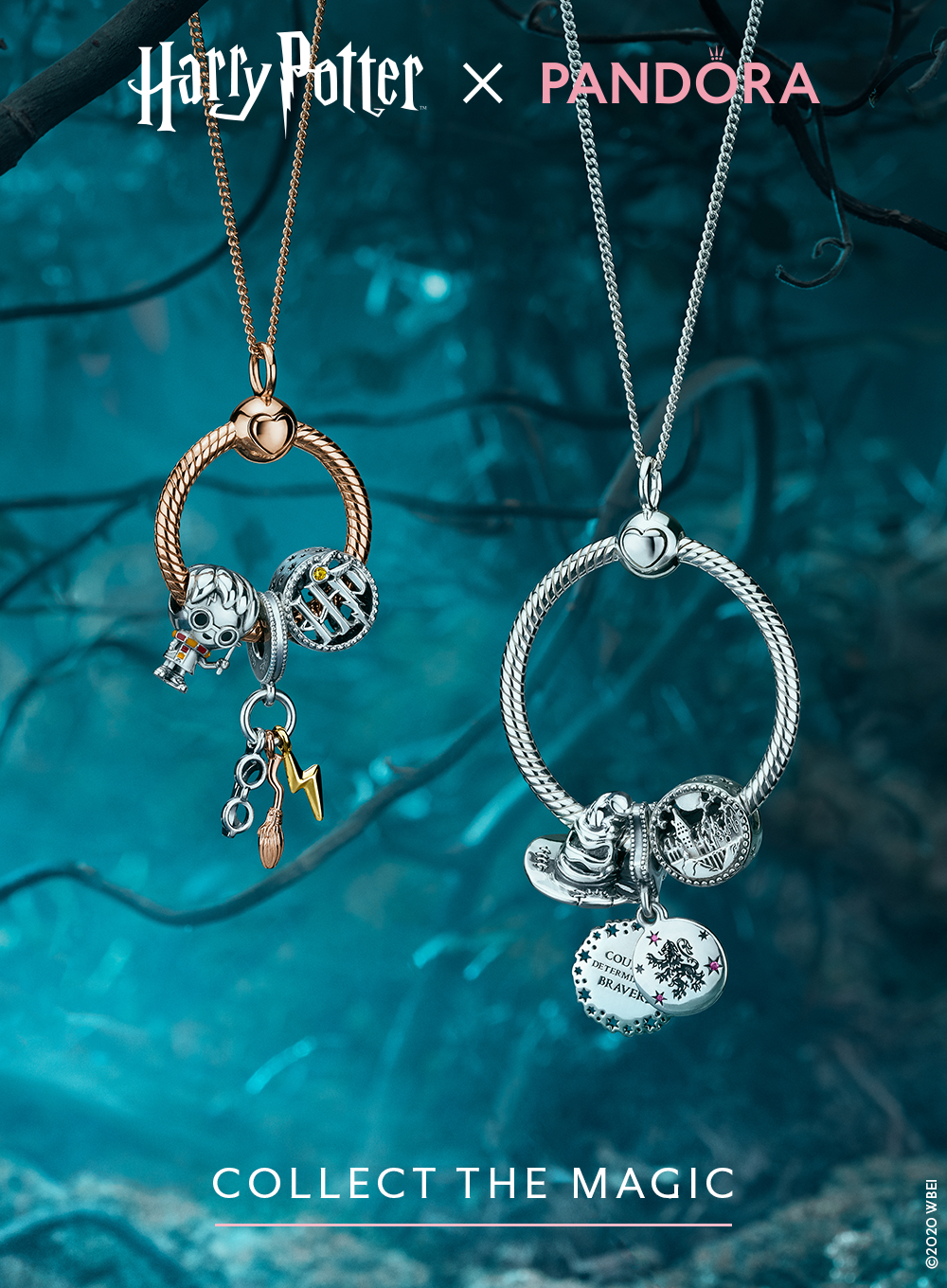 Show off your favourite styles from the Harry Potter x Pandora ...