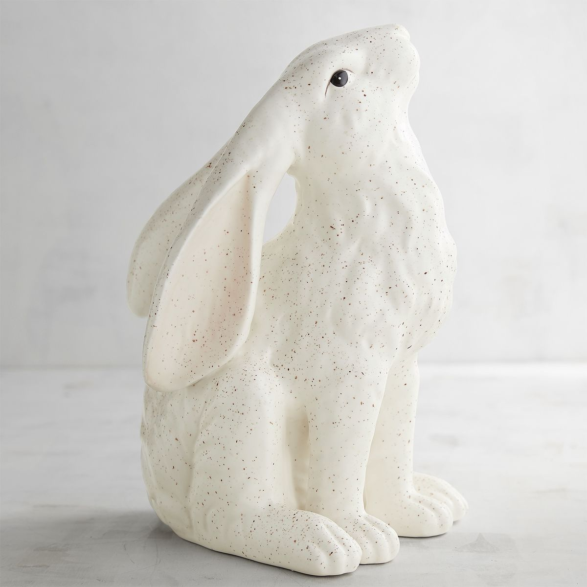 Speckled Ceramic Rabbit   Pier 1 Imports