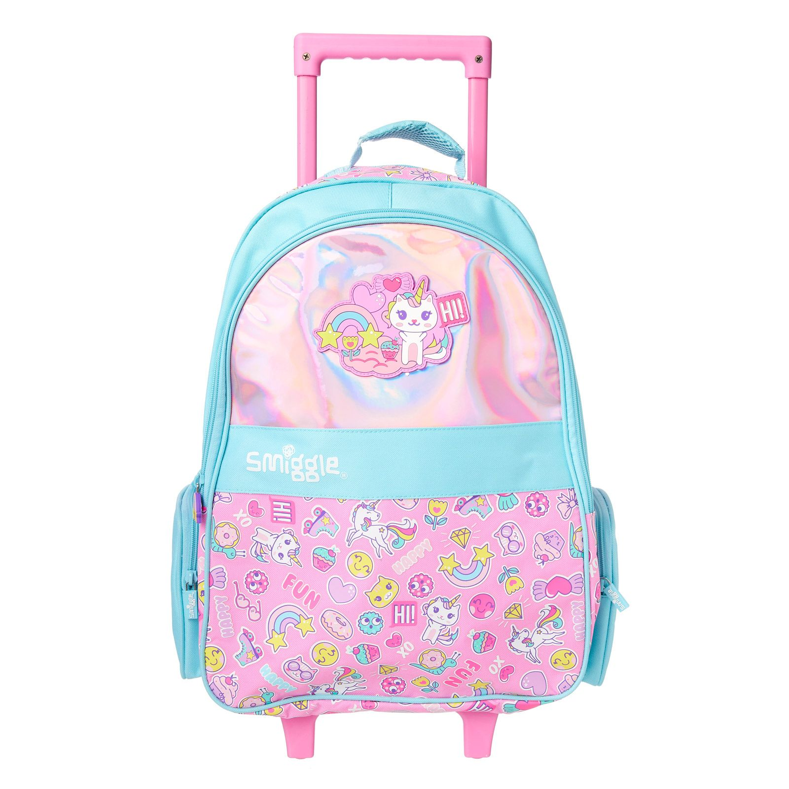 9bd6badfd8ac Chill Light Up Trolley Bag | Smiggle | Laila board | Night light ...