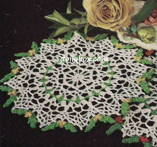 Free Vintage Crochet Gift Doily Pattern | Knits and Crochet ...