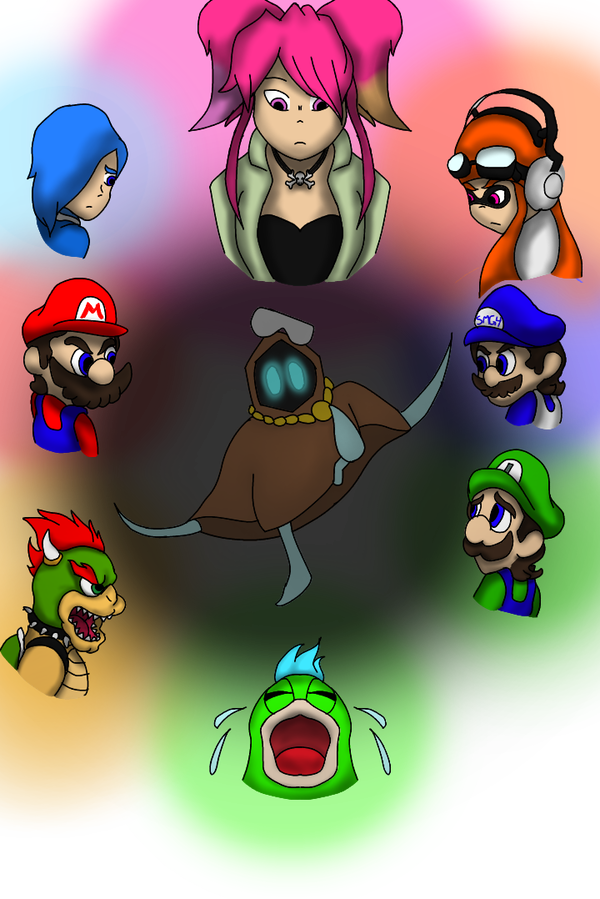 Resultado de imagen de smg4 wallpaper | smg4 | Fan art, Fictional