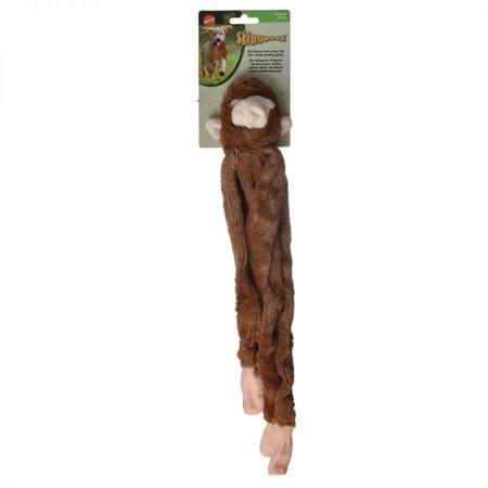 Spot Skinneeez Plush Stuffing Free Monkey Dog Toy 16 Inch Dog