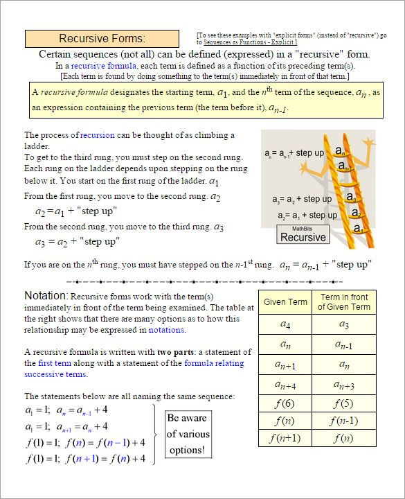 9 Arithmetic Sequence Examples Doc Pdf Excel Arithmetic