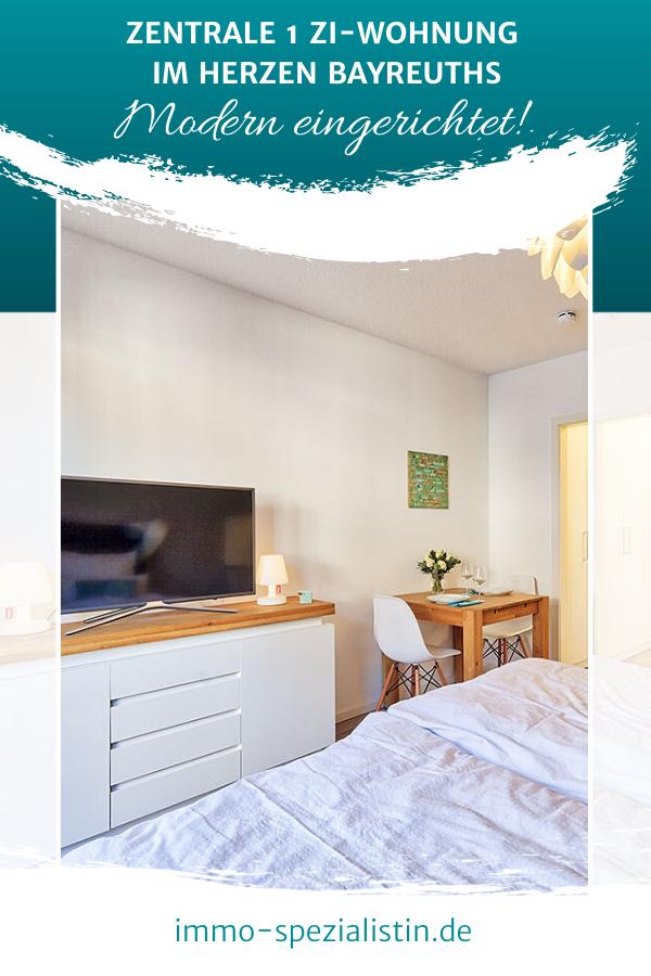 Ruhige zentral gelegene 1 Zi.Wohnung mit Balkon im Herzen