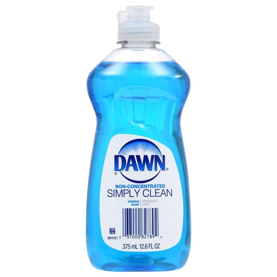 Dawn Simply Clean Dishwashing Liquid 12 6 Oz Bottles Cleaning Cleaning Hacks Dishwasher Pods