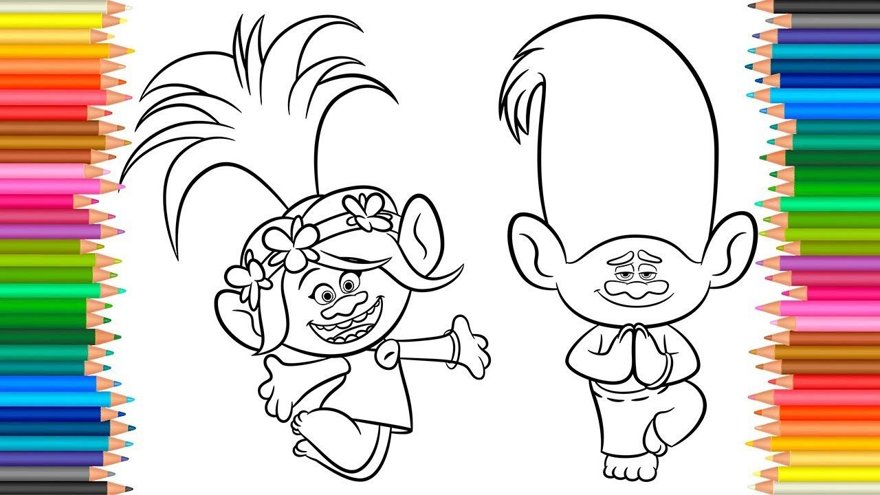 Trolls Coloring Pages Creek Through The Thousands Of Images Online Regarding Trolls Coloring Pages Coloring Pages Cartoon Coloring Pages Free Coloring Pages