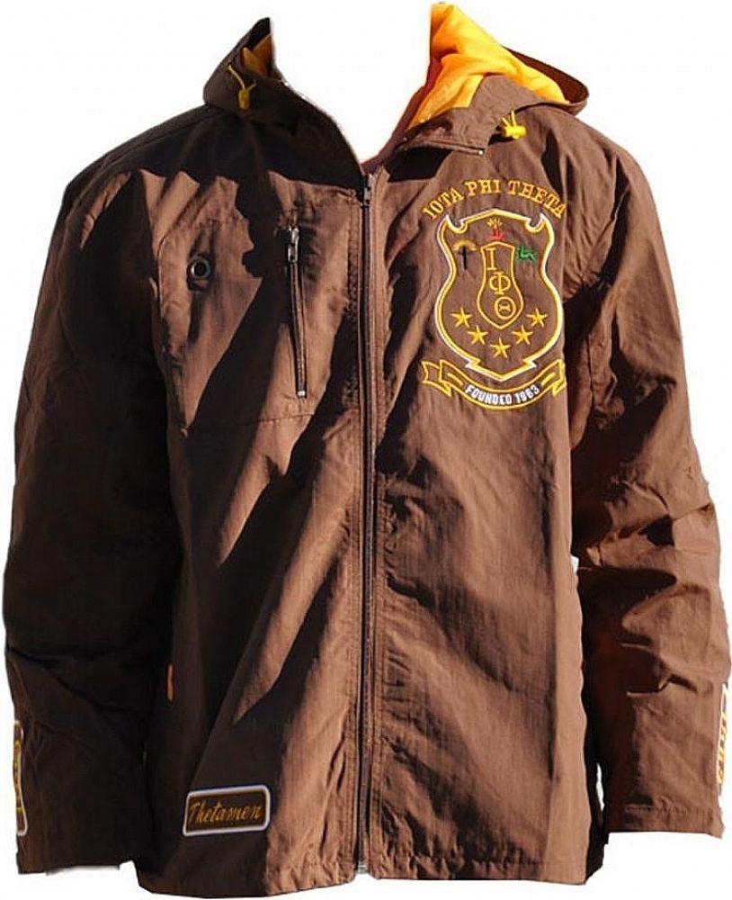 Iota Phi Theta Divine 9 S3 Mens Hooded Windbreaker Jacket