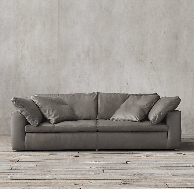 cloud track arm leather two seat cushion sofa cheap deals melbourne interior design
