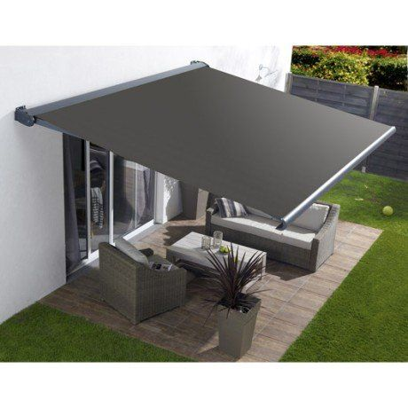 750 Euros Store Banne Motorise Borneo Coffre Integral Aluminium Larg 4 X Avancee 3 5m Outdoor Awnings Backyard Patio Designs Patio Shade