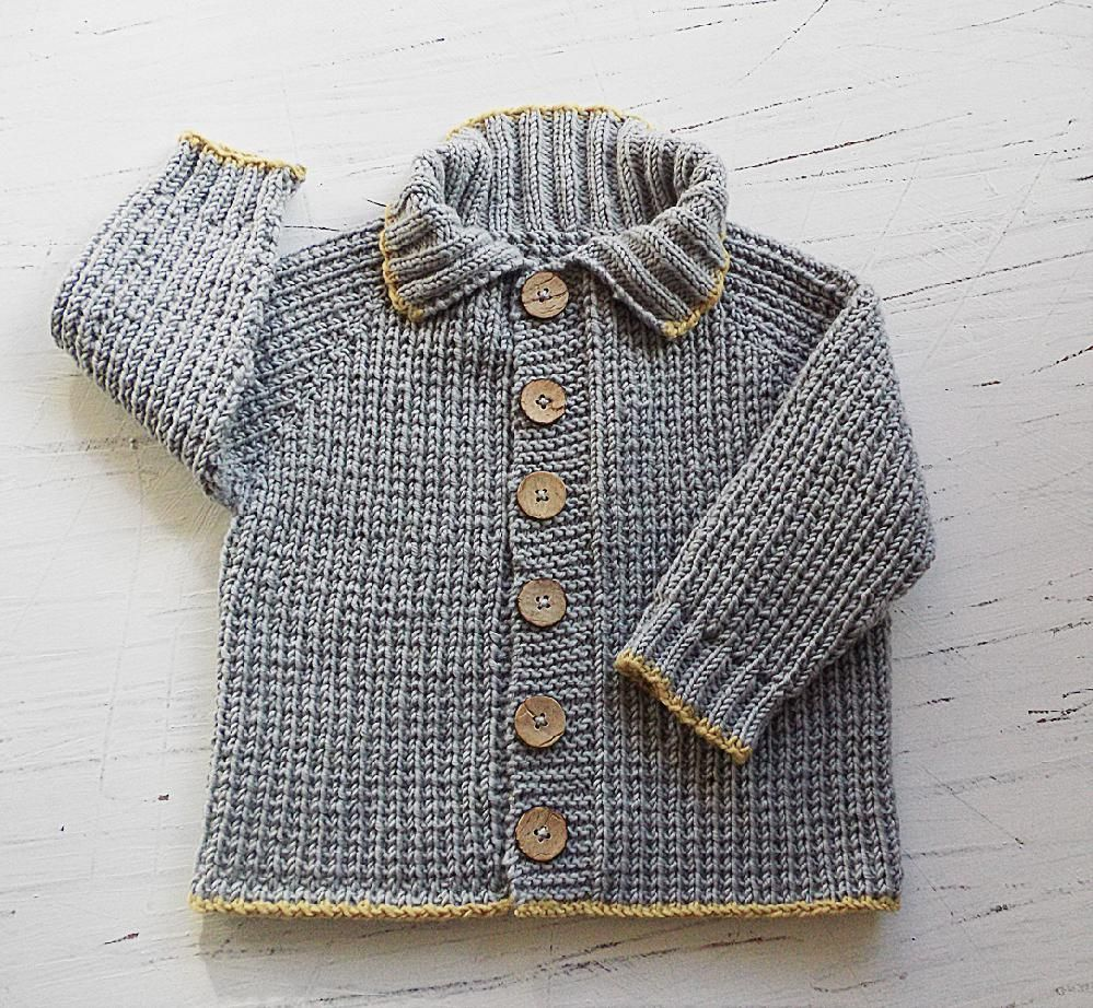 8910f951c4671 Baby toddlers seamless top down Fisherman s Rib Jacket Knitting pattern by OGE  Knitwear Designs