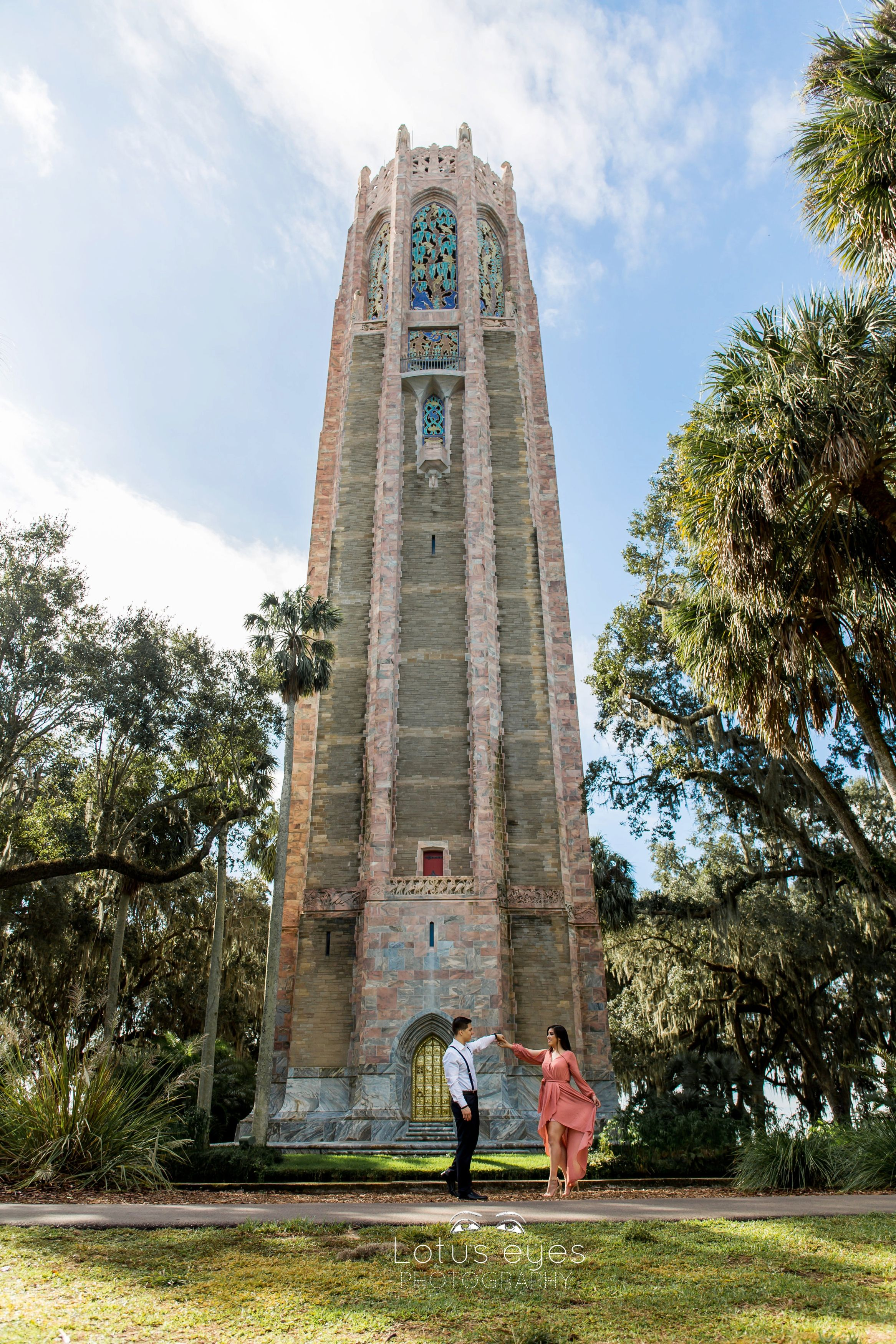 Bok Tower Gardens Engagement Session Engagement