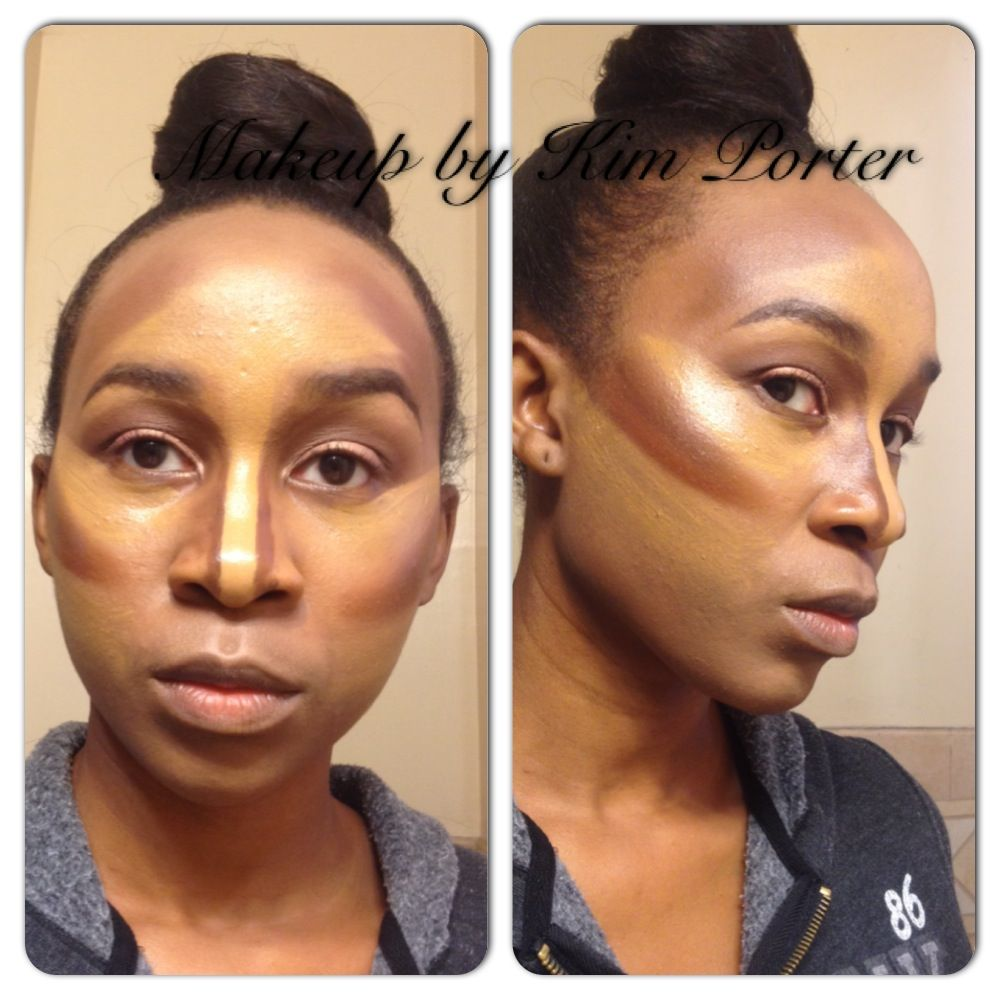 Highlight Contour Makeup for Darker Skin ~ good article on contouring in general including what makeup and shades you need