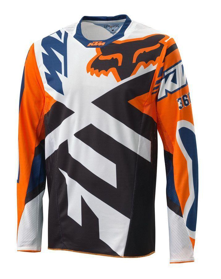 KTM Fox 360 Jersey Orange