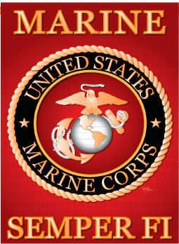 Wholesale Flags Garden Flags Sports Wallart Made In The Usa Marine Flag Marine Corps Us Marine Corps
