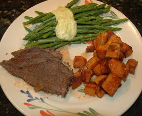 Sue S Kitchen Digest Pot Roast With Roasted Sweet Potatoes And