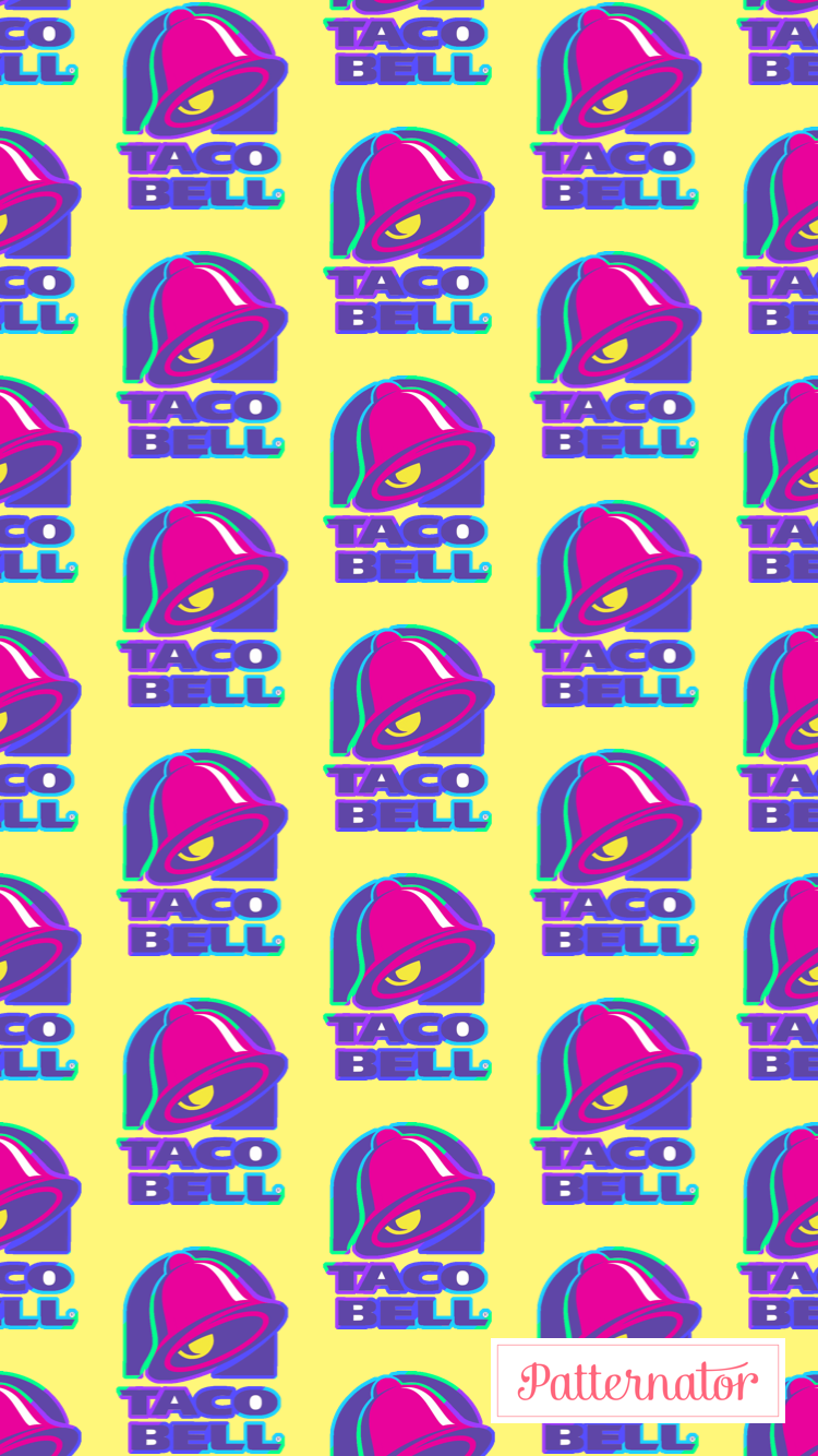 Taco Bell Logo Wallpaper Iphone Background Wallpaper Taco Bell Logo Colorful Wallpaper