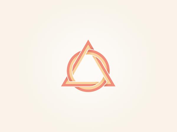Triangular Shaped Logo Logo Design Photography Logos Triangle Logo