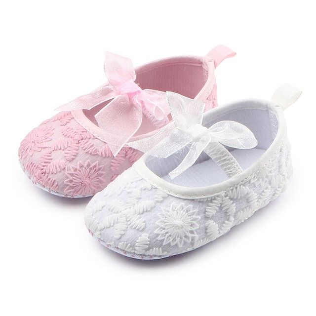 678ed60bbccf2 Baby clothes dress Sneakers Newborn Baby girls First Walkers crib party shoes  baby toddlers baby flower