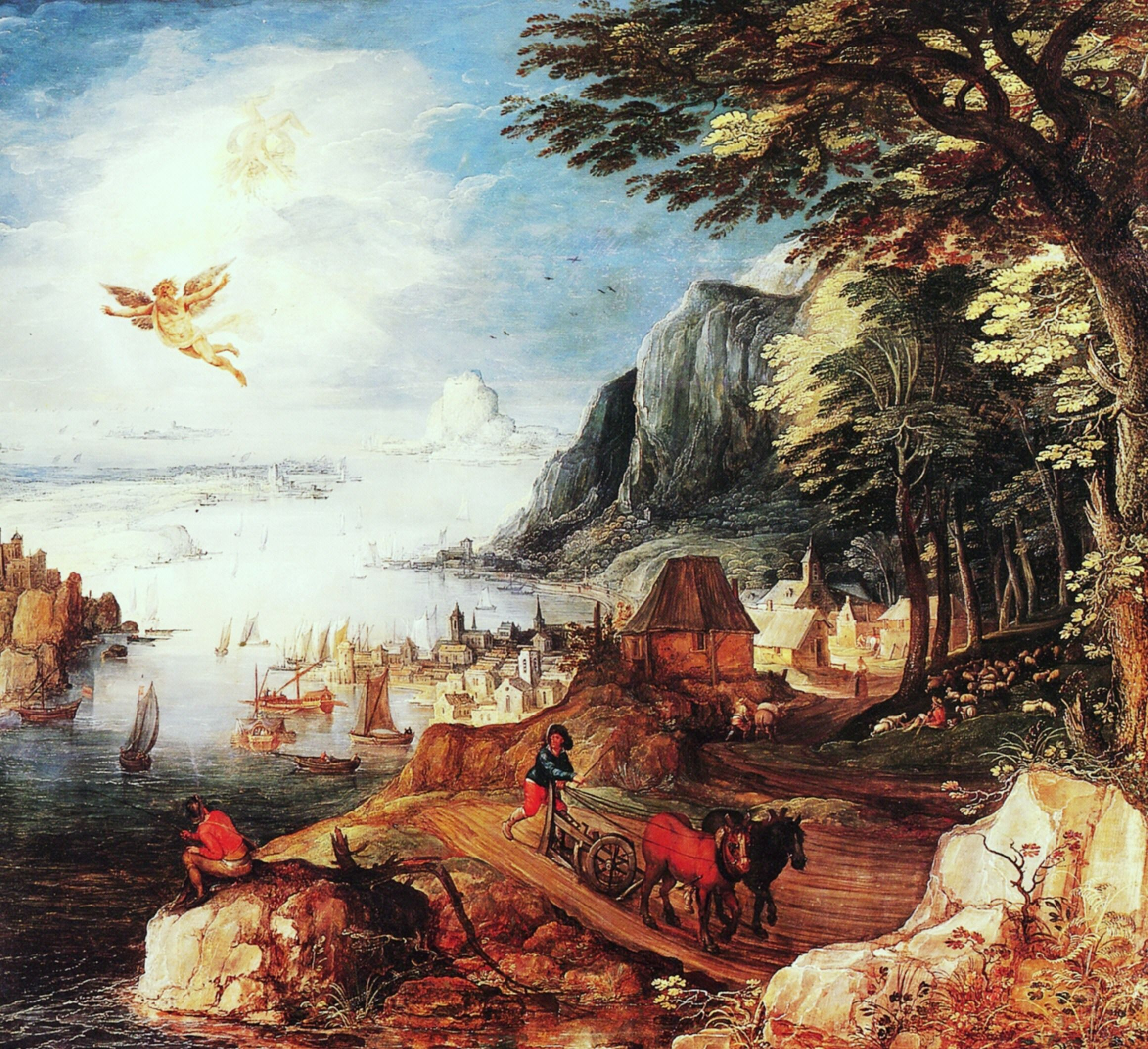 compare and contrast fall of icarus Summary of the story of daedalus and icarus overview and detailed summary of daedalus and icarus by phd students from stanford, harvard, berkeley.