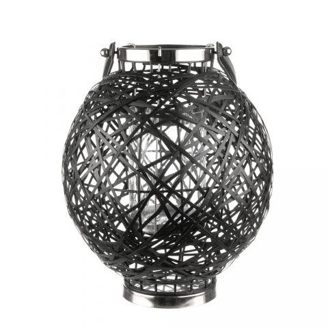 HURRICANE Decorative Iron Strip Round 31.5cm Black | Wheel&Barrow Homewares