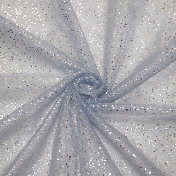 Full Star Bronzed High Density Organza Fabric Tutu Party Decoration 2 meters/lot