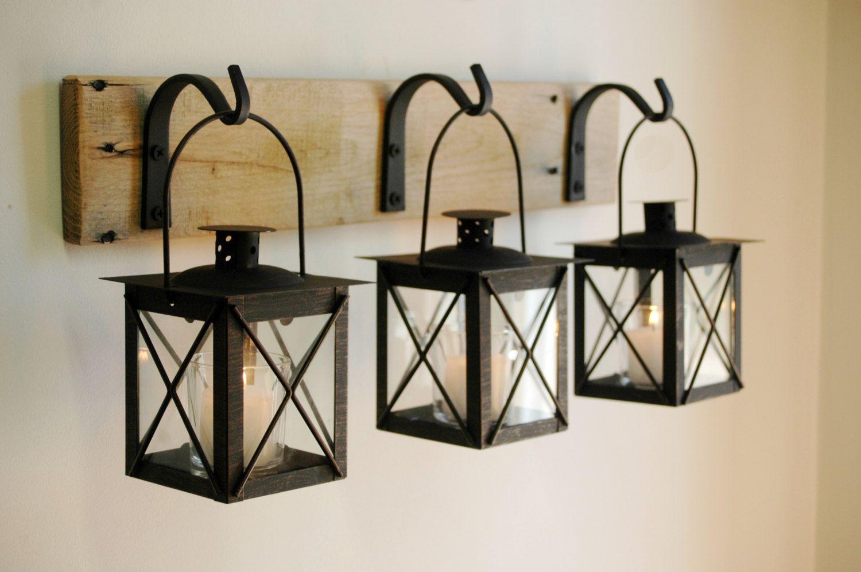 Luminara Lantern Indoor Use Ideas Decor Rustic Decor Handmade Home Decor
