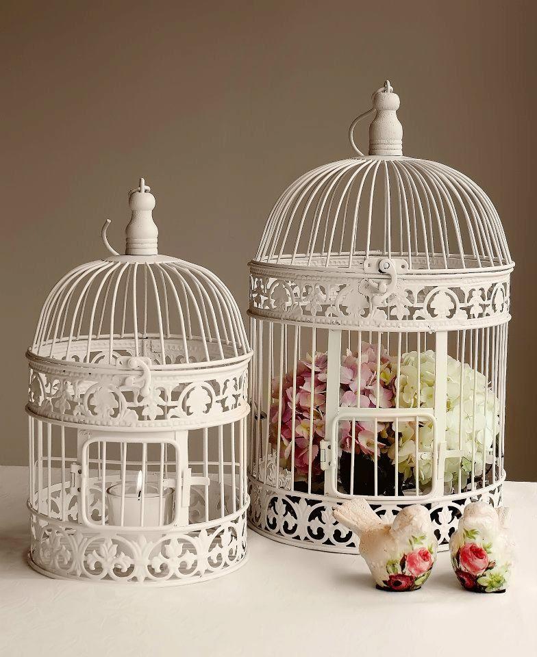 Afternoon Wedding Reception Ideas: Birdcages Are Fantastic Wedding Reception Centrepieces